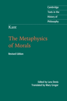 Kant: The Metaphysics of Morals, Paperback / softback Book