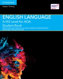 A/AS Level English Language for AQA Student Book, Paperback Book
