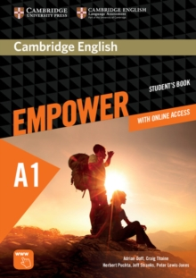 Cambridge English Empower Starter Student's Book with Online Assessment and Practice, and Online Workbook, Mixed media product Book
