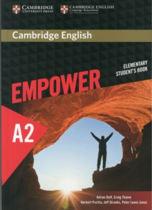Cambridge English Empower Elementary Student's Book, Paperback Book