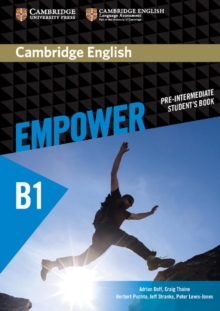 Cambridge English Empower Pre-intermediate Student's Book, Paperback Book