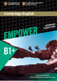 Cambridge English Empower Intermediate Student's Book, Paperback / softback Book