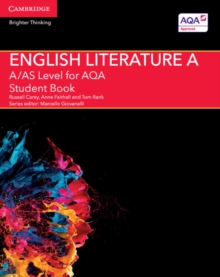A/AS Level English Literature A for AQA Student Book, Paperback / softback Book