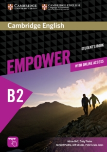 Cambridge English Empower Upper Intermediate Student's Book with Online Assessment and Practice, and Online Workbook, Mixed media product Book
