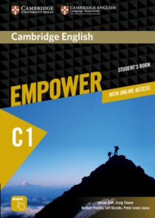 Cambridge English Empower Advanced Student's Book with Online Assessment and Practice, and Online Workbook, Mixed media product Book