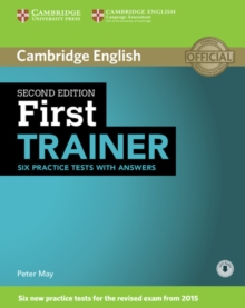 First Trainer Six Practice Tests with Answers with Audio, Mixed media product Book