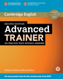 Advanced Trainer Six Practice Tests Without Answers with Audio, Mixed media product Book