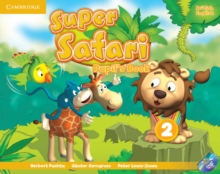 Super Safari Level 2 Pupil's Book with DVD-ROM, Mixed media product Book