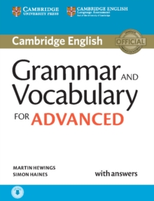 Grammar and Vocabulary for Advanced Book with Answers and Audio : Self-Study Grammar Reference and Practice, Mixed media product Book