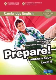 Cambridge English Prepare! Level 5 Student's Book, Paperback / softback Book