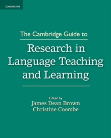 The Cambridge Guide to Research in Language Teaching and Learning, Paperback Book