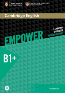 Cambridge English Empower Intermediate Workbook Without Answers with Downloadable Audio : Cambridge English Empower Intermediate Workbook without Answers with Downloadable Audio Intermediate, Mixed media product Book