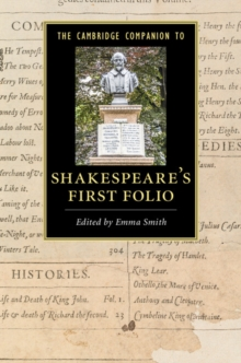 The Cambridge Companion to Shakespeare's First Folio, Paperback Book