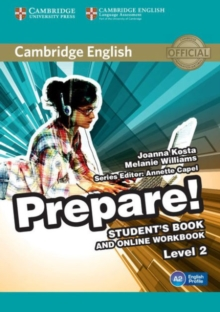 Cambridge English Prepare! Level 2 Student's Book and Online Workbook, Mixed media product Book