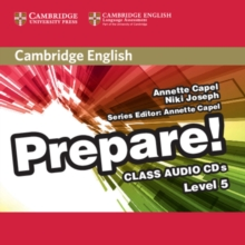 Cambridge English Prepare! Level 5 Class Audio CDs (2), CD-Audio Book