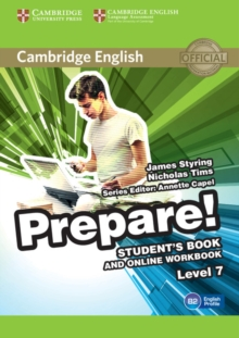 Cambridge English Prepare! Level 7 Student's Book and Online Workbook, Mixed media product Book