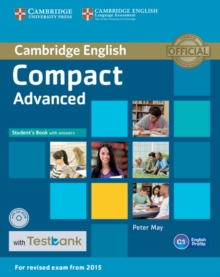 Compact Advanced Student's Book with Answers with CD-ROM with Testbank, Mixed media product Book