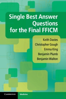 Single Best Answer Questions for the Final Fficm, Paperback Book