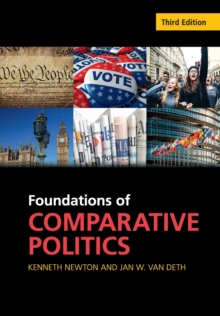 Cambridge Textbooks in Comparative Politics : Foundations of Comparative Politics: Democracies of the Modern World, Paperback / softback Book