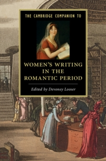 The Cambridge Companion to Women's Writing in the Romantic Period, Paperback Book