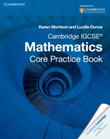 Cambridge IGCSE Core Mathematics Practice Book, Paperback Book
