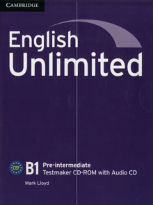 English Unlimited Pre-intermediate Testmaker CD-ROM and Audio CD, Mixed media product Book