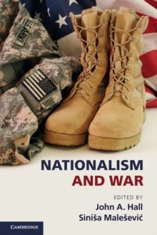 Nationalism and War, Paperback Book