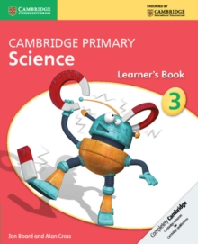 Cambridge Primary Science Stage 3 Learner's Book, Paperback Book