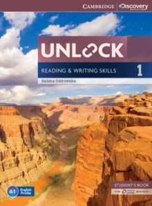 Unlock Level 1 Reading and Writing Skills Student's Book and Online Workbook, Mixed media product Book
