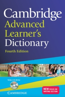 Cambridge Advanced Learner's Dictionary with CD-ROM, Mixed media product Book