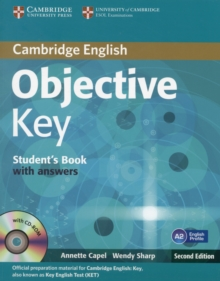 Objective : Objective Key Student's Book with Answers with CD-ROM, Mixed media product Book