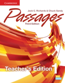 Passages Level 1 Teacher's Edition with Assessment Audio CD/CD-ROM, Mixed media product Book