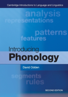 Introducing Phonology, Paperback Book