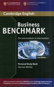 Business Benchmark Pre-intermediate to Intermediate BULATS and Business Preliminary Personal Study Book, Paperback Book