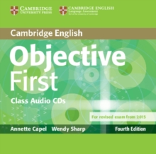 Objective First Class Audio CDs (2), CD-Audio Book