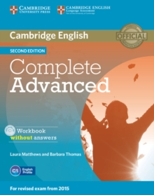 Complete : Complete Advanced Workbook without Answers with Audio CD, Mixed media product Book