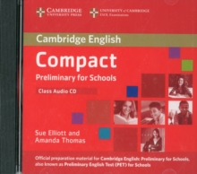 Compact Preliminary for Schools Class Audio CD, CD-Audio Book