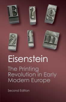 The Printing Revolution in Early Modern Europe, Paperback / softback Book