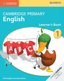 Cambridge Primary English Stage 1 Learner's Book, Paperback / softback Book