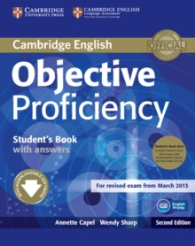 Objective : Objective Proficiency Student's Book Pack (Student's Book with Answers with Downloadable Software and Class Audio CDs (2)), Mixed media product Book