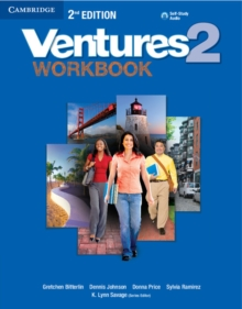 Ventures Level 2 Workbook with Audio CD, Mixed media product Book