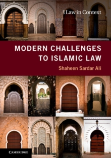 Modern Challenges to Islamic Law, Paperback Book