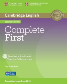 Complete First Teacher's Book with Teacher's Resources CD-ROM, Mixed media product Book