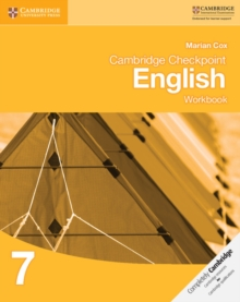 Cambridge Checkpoint English Workbook 7, Paperback Book