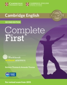 Complete First Workbook without Answers with Audio CD, Mixed media product Book