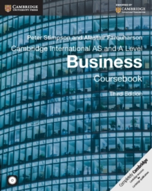 Cambridge International AS and A Level Business Ebook, PDF eBook