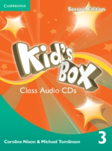Kid's Box Level 3 Class Audio CDs (2), CD-Audio Book