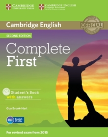 Complete : Complete First Student's Book with Answers with CD-ROM, Mixed media product Book