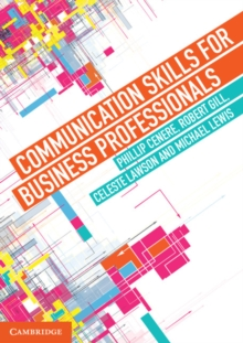 Communication Skills for Business Professionals, Paperback Book