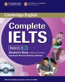 Complete IELTS Bands 6.5-7.5 Student's Book without Answers with CD-ROM, Mixed media product Book